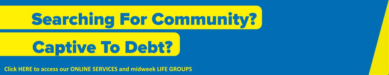 Community Debt Banner